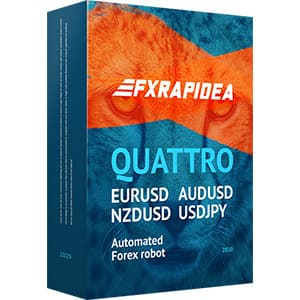 FXRapidEA Quattro EA is automated Forex robot